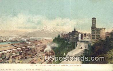 Gateway to the City - Tacoma, Washington WA Postcard