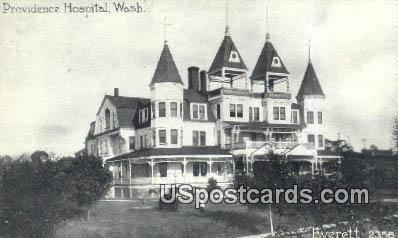 Providence Hospital - Everett, Washington WA Postcard