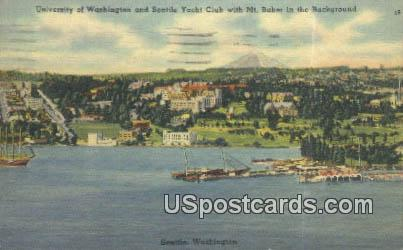 University of Washington - Seattle Postcard
