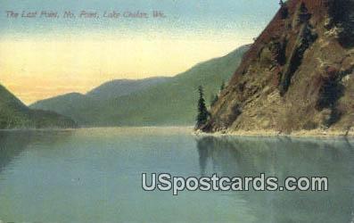 Last Point No Point - Lake Chelan, Washington WA Postcard