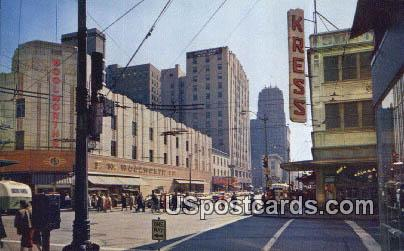 Third Avenue - Seattle, Washington WA Postcard