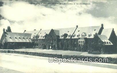 Annie Wright Seminary - Tacoma, Washington WA Postcard