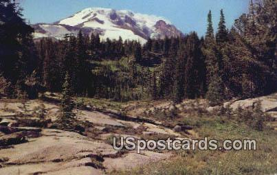 Mount Adams, WA Postcard      ;      Mount Adams, Washington