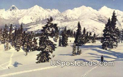 Border Peaks, Washington Postcard     ;      Border Peaks, WA