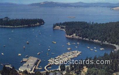 Roche Harbor - Washington WA Postcard