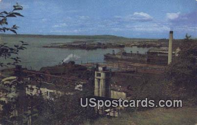 Waterfront - Everett, Washington WA Postcard