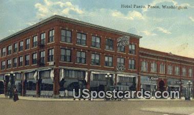 Hotel Pasco - Washington WA Postcard
