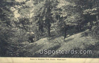 Madrona Park - Seattle, Washington WA Postcard