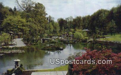 Japanese Garden, U of Washington Arboretum - Misc Postcard