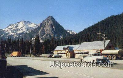 Snoqualmie Summit, WA Postcard      ;      Snoqualmie Summit, Washington