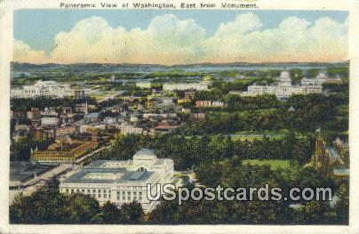 Monument - Misc, Washington WA Postcard
