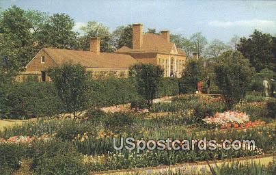 Flower Garden & Greenhouse - Mount Vernon, Washington WA Postcard