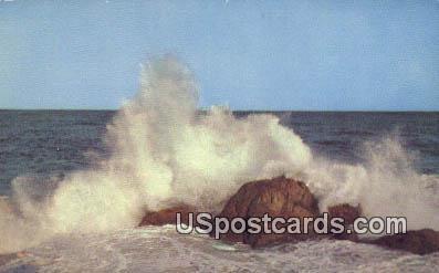 Rock Bound Coast, WA Postcard      ;      Rock Bound Coast, Washington