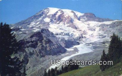 Mt Rainier - Glacier Vista, Washington WA Postcard