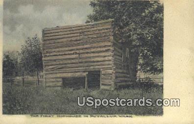 First Hophouse - Puyallup, Washington WA Postcard