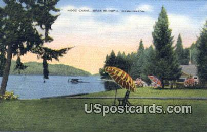 Hood Canal - Olympia, Washington WA Postcard