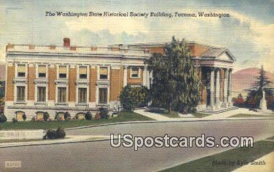 Washington State Historical Society Building - Tacoma Postcard