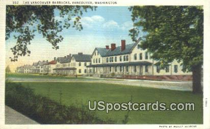 Vancouver Barracks - Washington WA Postcard