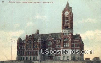 County Court House - Port Townsend, Washington WA Postcard