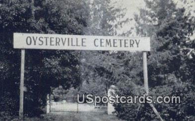 Pioneer Oysterville Cemetery - Nahcotta, Washington WA Postcard