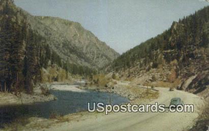Stevens Pass - Everett, Washington WA Postcard