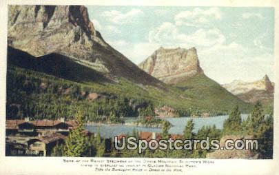 Glacier National Park, WA Postcard      ;      Glacier National Park, Washington
