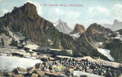 Alaska Yukon Pacific Exposition Seattle 1909  - Cascade Range, Washington WA Postcard