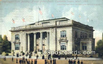Exposition Seattle 1909 Washington State Building Postcard