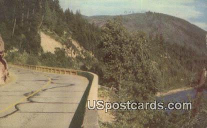 Skirting - Puget Sound, Washington WA Postcard