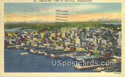 Seattle, WA Postcard      ;      Seattle, Washington