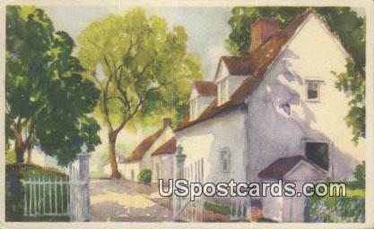 North Lane - Mount Vernon, Washington WA Postcard