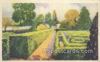 Flower Garden - Mount Vernon, Washington WA Postcard