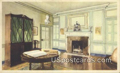 Library - Mount Vernon, Washington WA Postcard