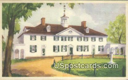 West Front - Mount Vernon, Washington WA Postcard
