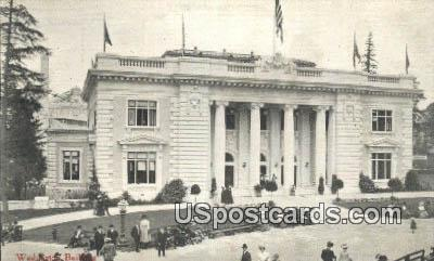 Washington State Building - Olympia Postcard