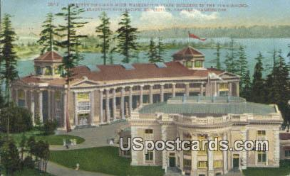 Forestry Building - Seattle, Washington WA Postcard