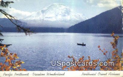 Pacific Northwest Fantasy Forest - Washington WA Postcard