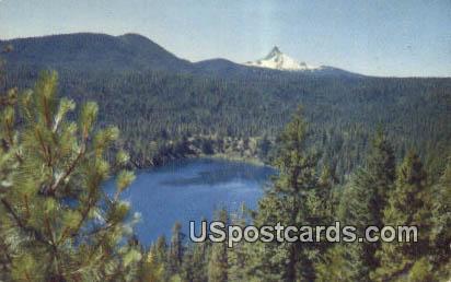 Blue Lake - Mount Washington Postcards, Washington WA Postcard