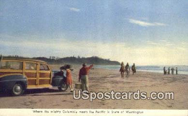 Misc, Washington Postcard     ;      Misc, WA