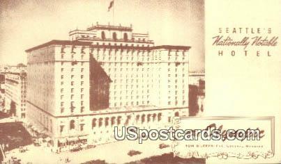 The Olympic - Seattle, Washington WA Postcard