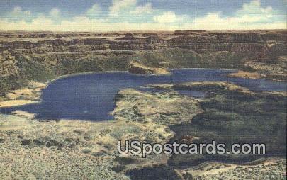 Lower Grand Coulee - Dry Falls State Park, Washington WA Postcard
