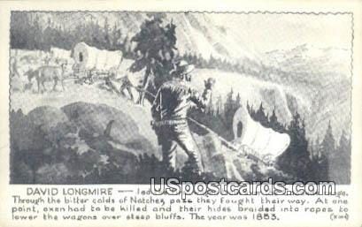 David Longmire - Cascade Range, Washington WA Postcard