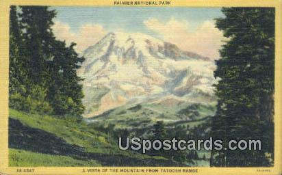 Tatoosh Range, WA Postcard      ;      Tatoosh Range, Washington