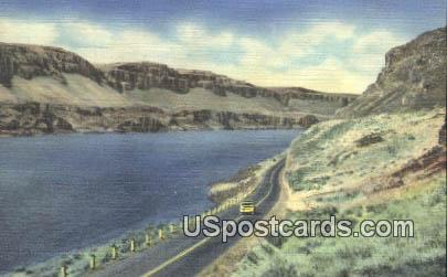 Lake Lenore - Lower Grand Coulee, Washington WA Postcard