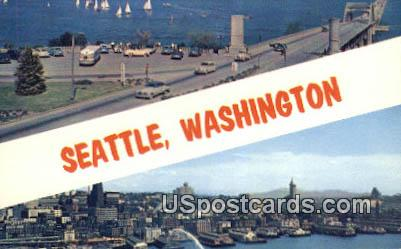 Seattle, Washington Postcard     ;      Seattle, WA
