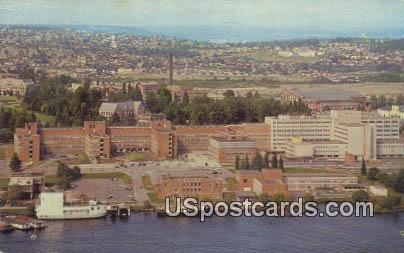 U of Washington Medical & Hospital Center - Seattle Postcard