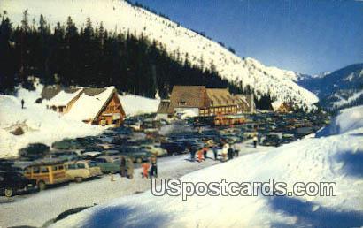 New Summit Inn - Stevens Pass, Washington WA Postcard