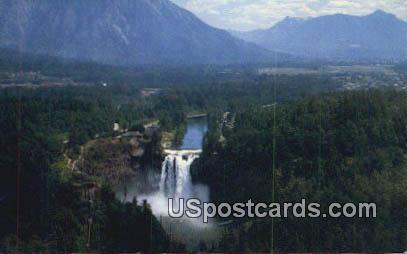 Snoqualmie Falls - Snoqualmie Valley, Washington WA Postcard