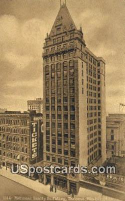 National Realty Building - Tacoma, Washington WA Postcard