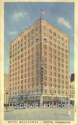 Hotel Mayflower - Seattle, Washington WA Postcard
